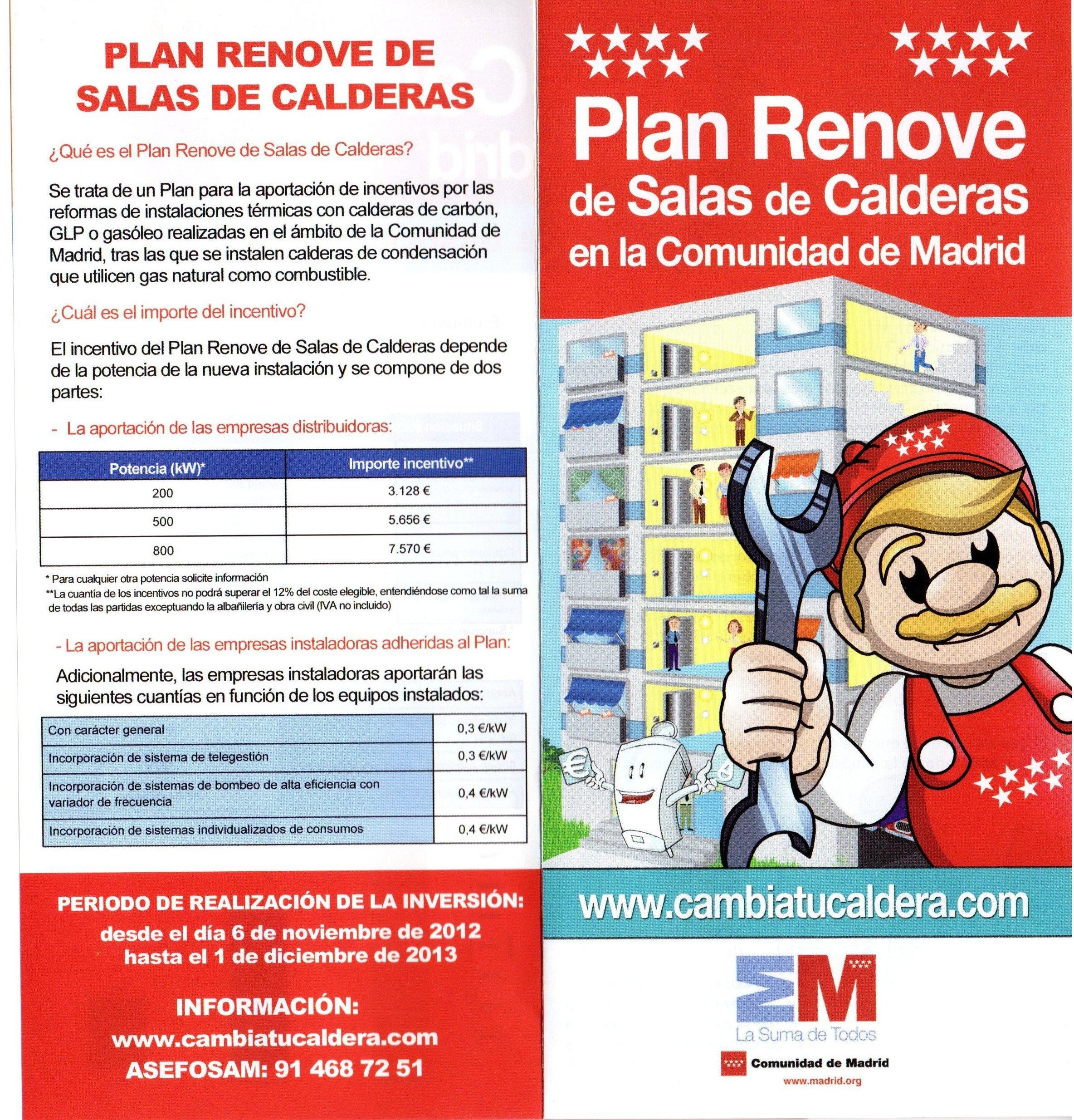 Plan Renove 2013